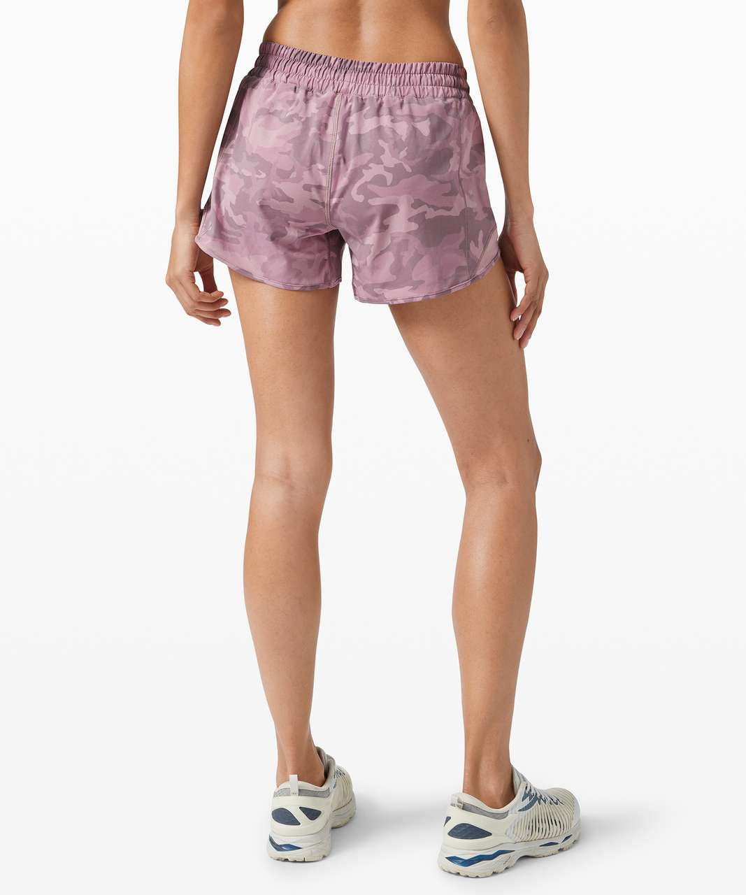 """Lululemon Hotty Hot Short II *Long 4"""" - Incognito Camo Pink Taupe Multi / Pink Taupe"""