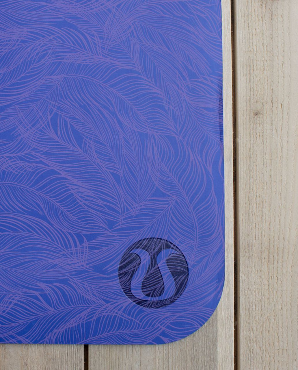 Lululemon The Reversible Mat 3mm Sketchy Palm Iris
