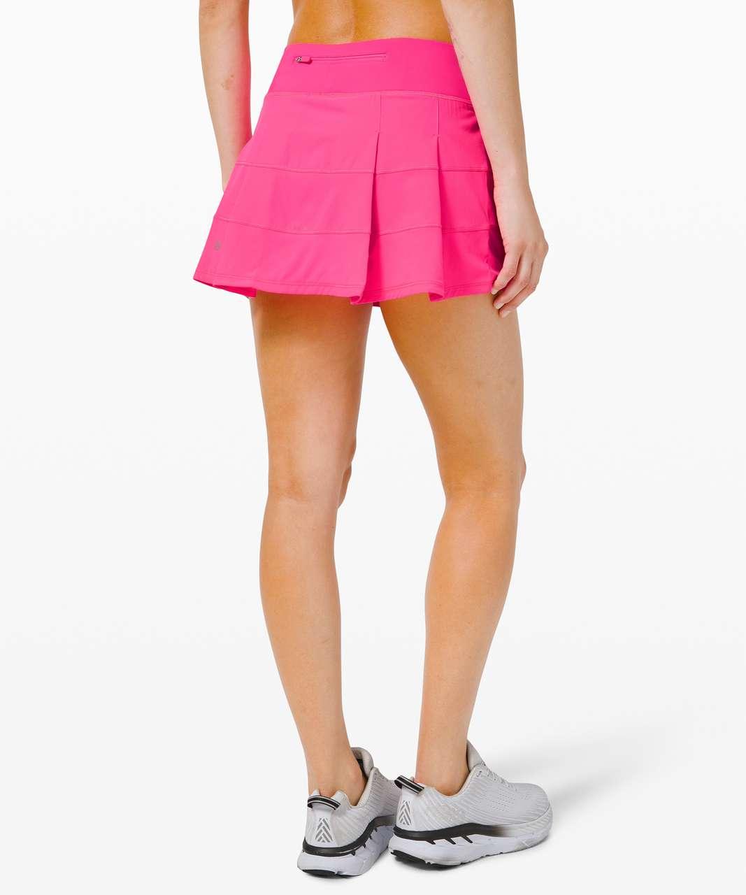 "Lululemon Pace Rival Skirt (Regular) *4-way Stretch 13"" - Pink Highlight"