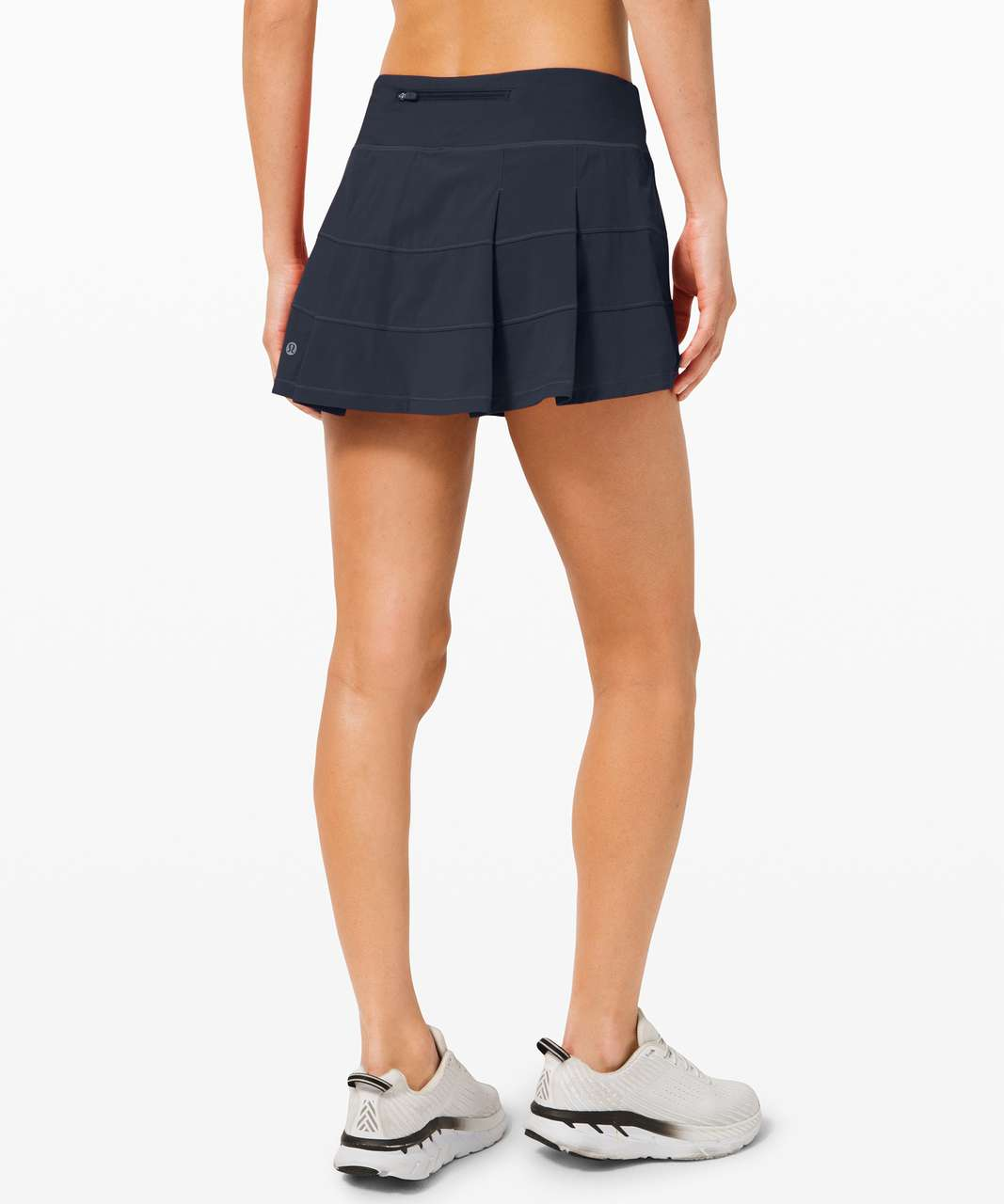 "Lululemon Pace Rival Skirt (Regular) *4-way Stretch 13"" - True Navy"
