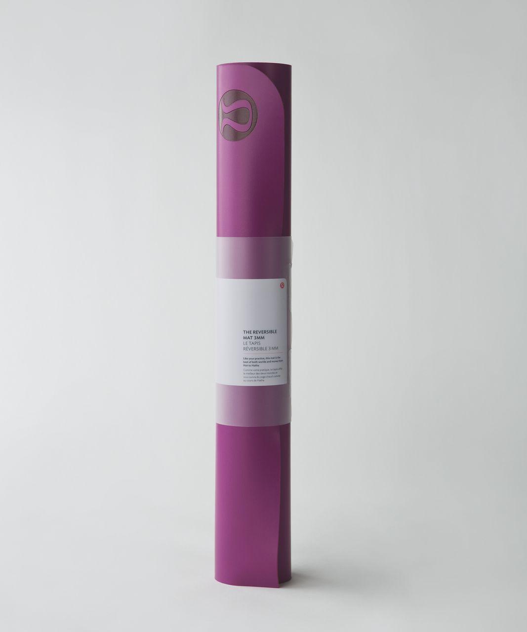 Lululemon The Reversible Mat 3mm - Regal Plum / Boom Juice