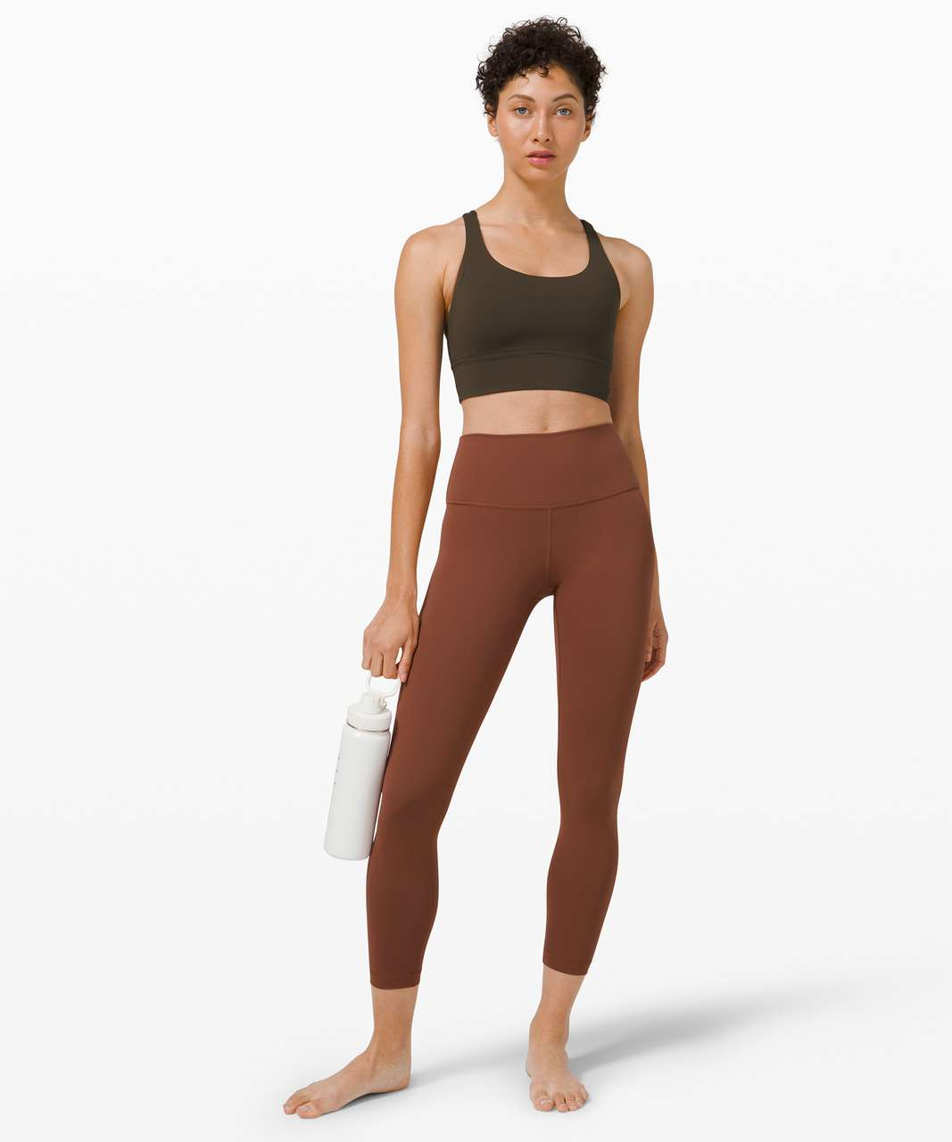 """Lululemon Wunder Under High-Rise Tight 25"""" *Full-On Luxtreme - Ancient Copper"""