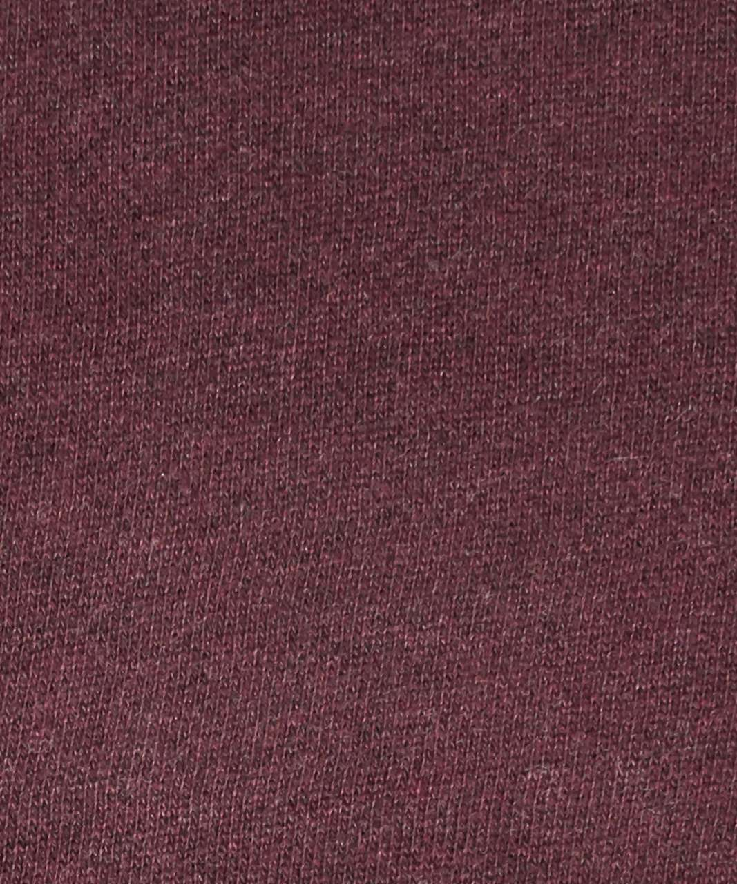 Lululemon Scuba Hoodie *Light Cotton Fleece - Heathered Cassis