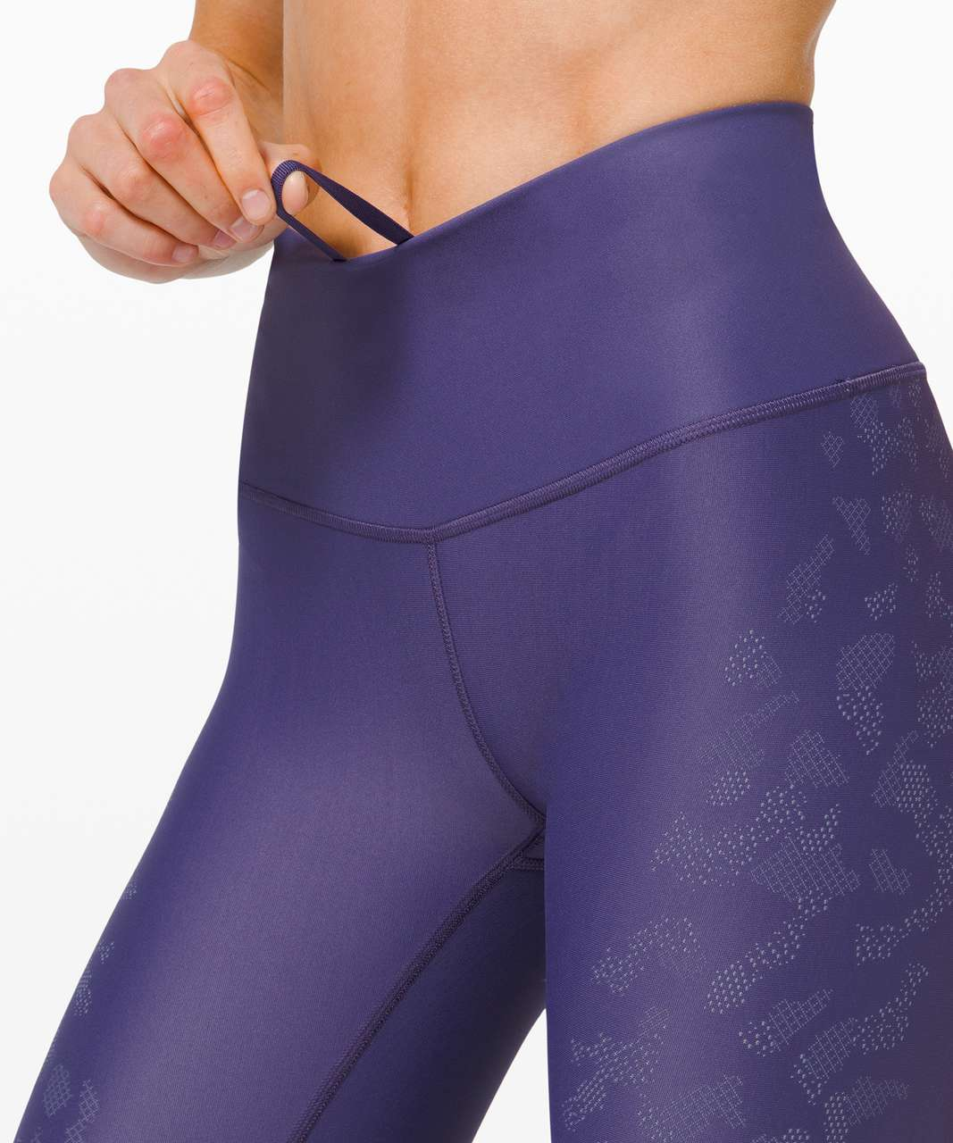 """Lululemon Mapped Out High Rise Tight 28"""" *Camo - Midnight Orchid / Peri Purple"""