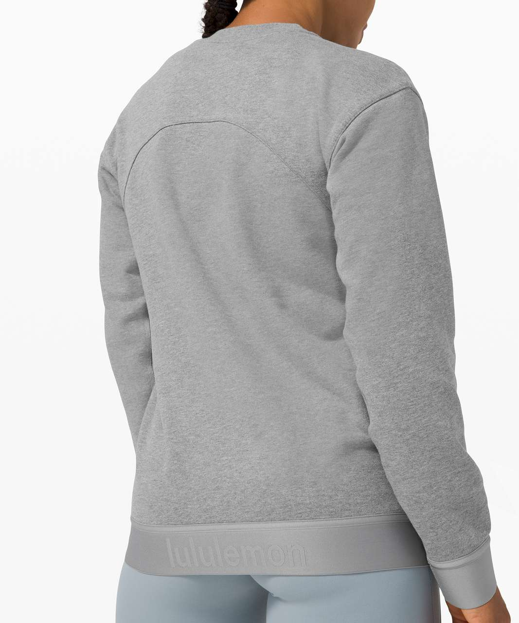 Lululemon All Yours Crew *Refreshed - Heathered Core Medium Grey