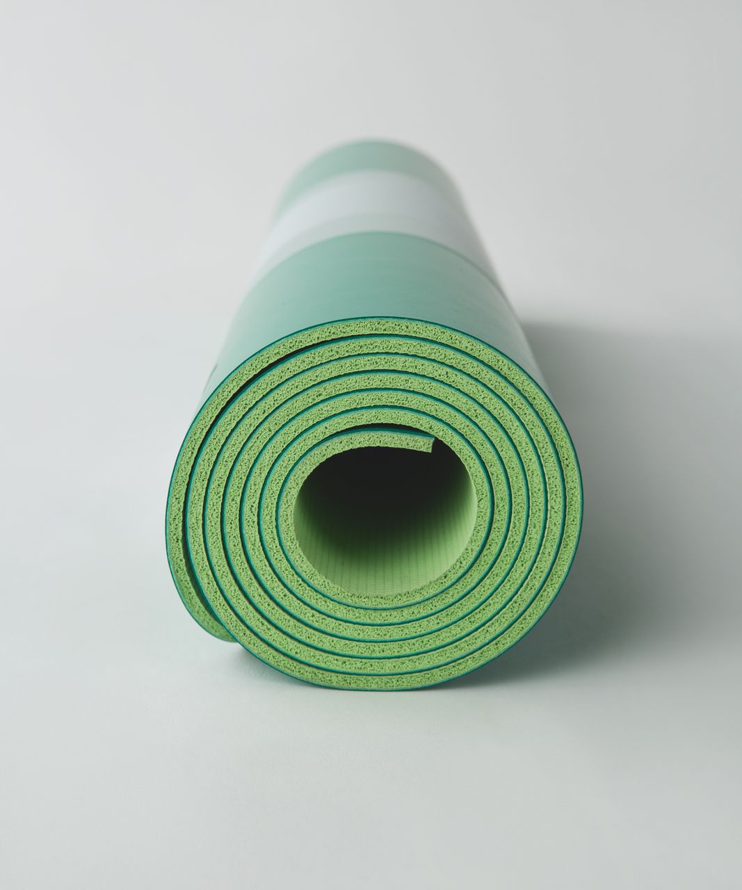 Lululemon The Reversible Mat 5mm - Jungle / Clear Mint