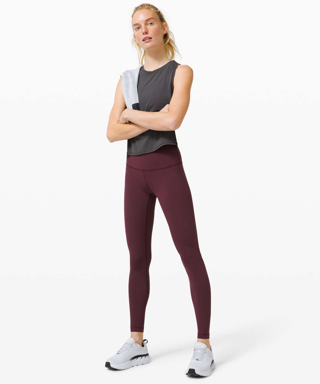 """Lululemon Wunder Under High-Rise Tight 31"""" *Full-On Luxtreme - Cassis"""