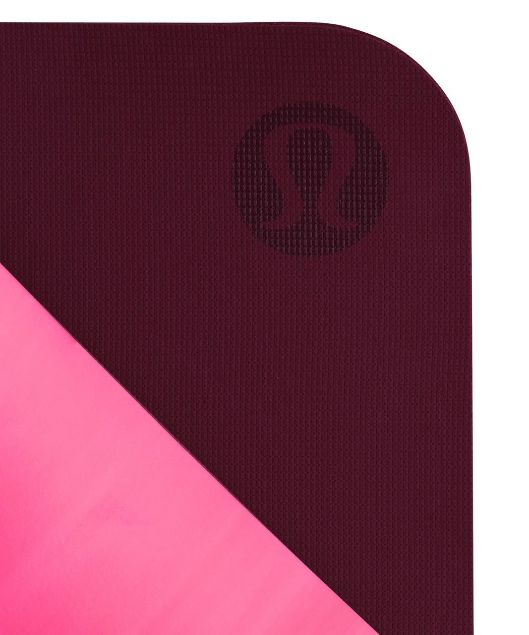 Lululemon The Reversible Mat 5mm - Jewelled Magenta / White / Dashing Purple