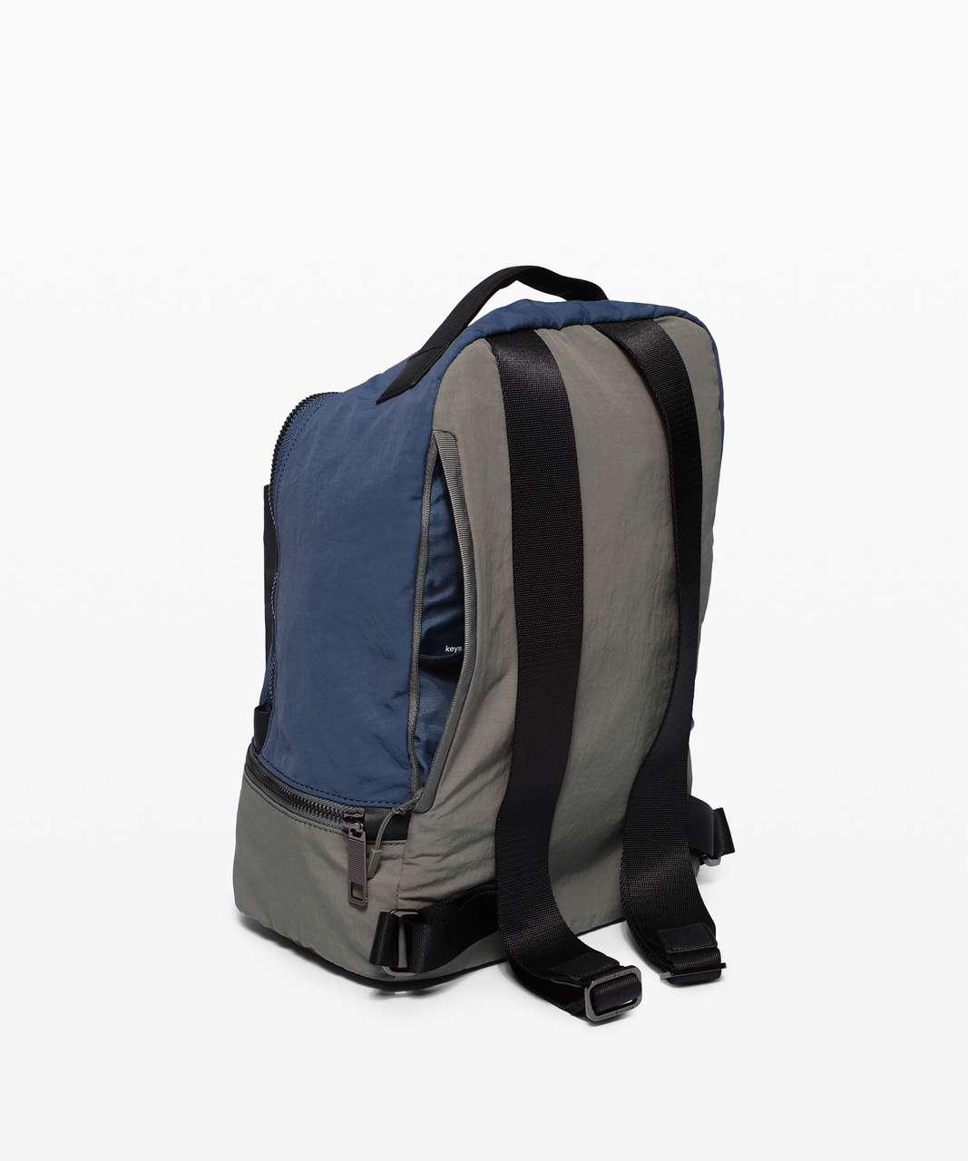 Lululemon City Adventurer Backpack Mini *10L - Iron Blue / Grey Sage