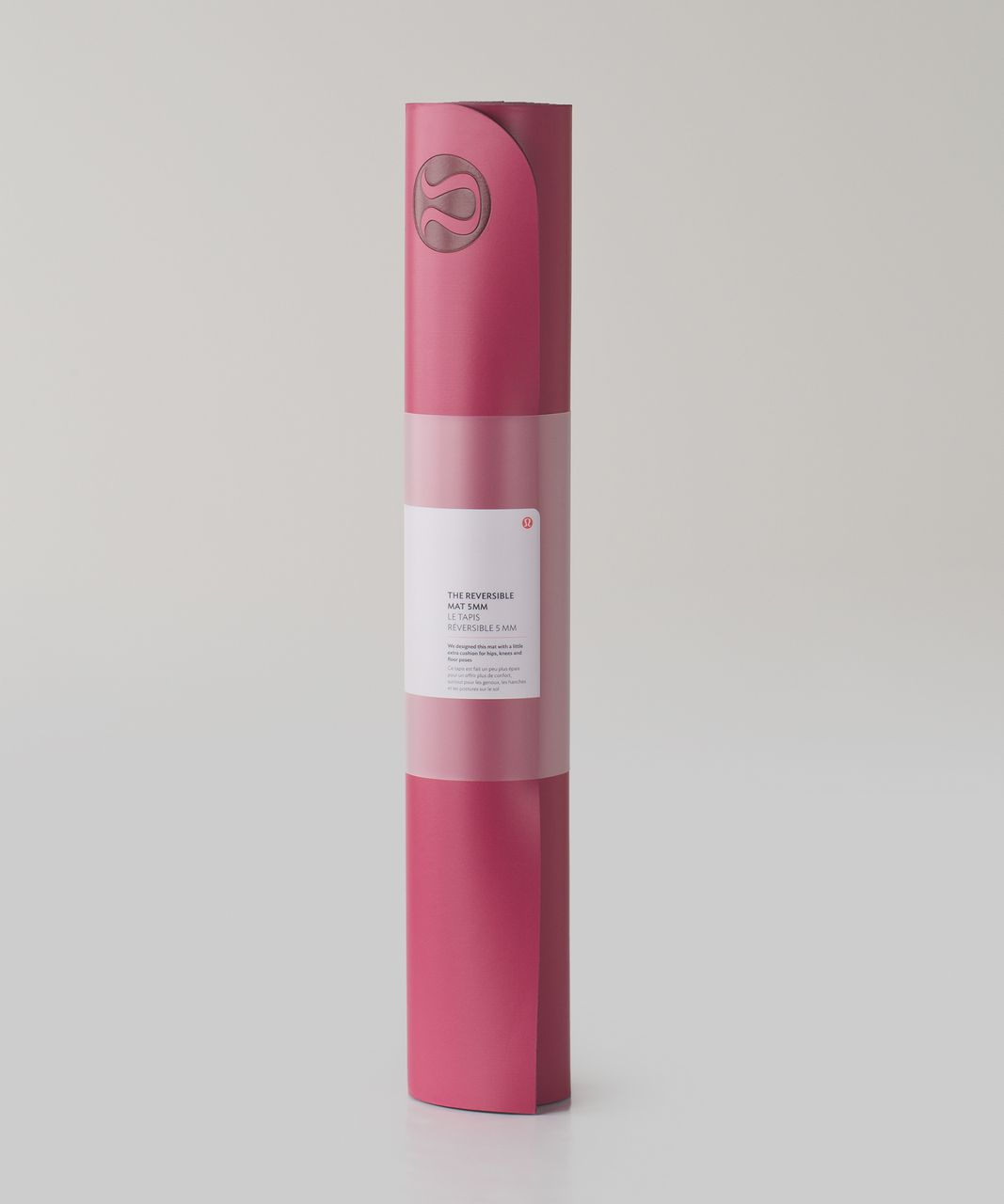 Lululemon The Reversible Mat 5mm - Berry Rumble / Bordeaux Drama