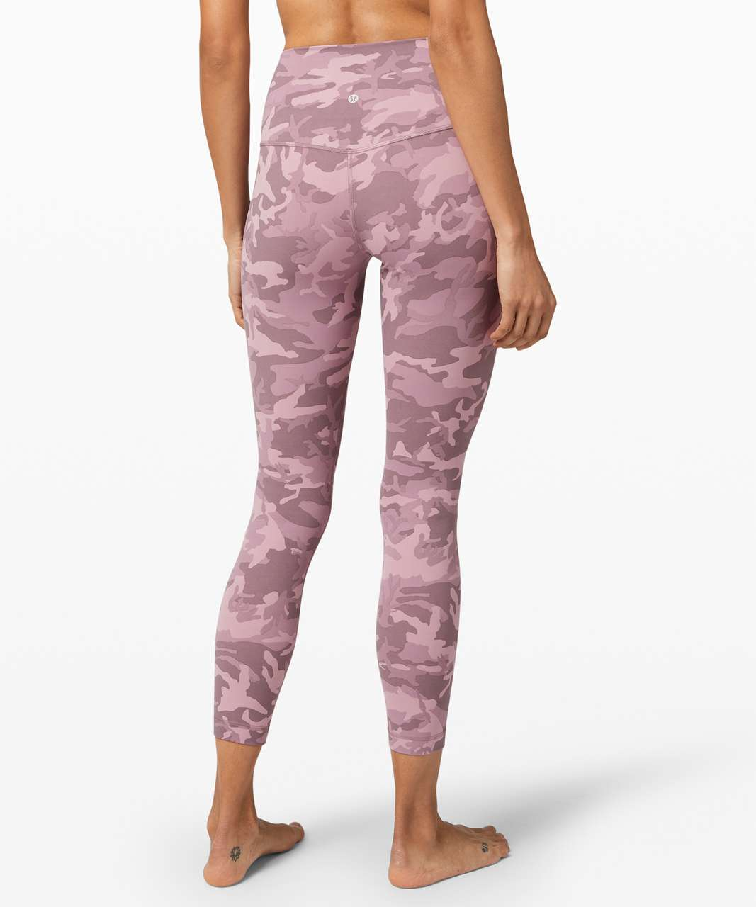 """Lululemon Align Pant II 25"""" - Incognito Camo Pink Taupe Multi"""