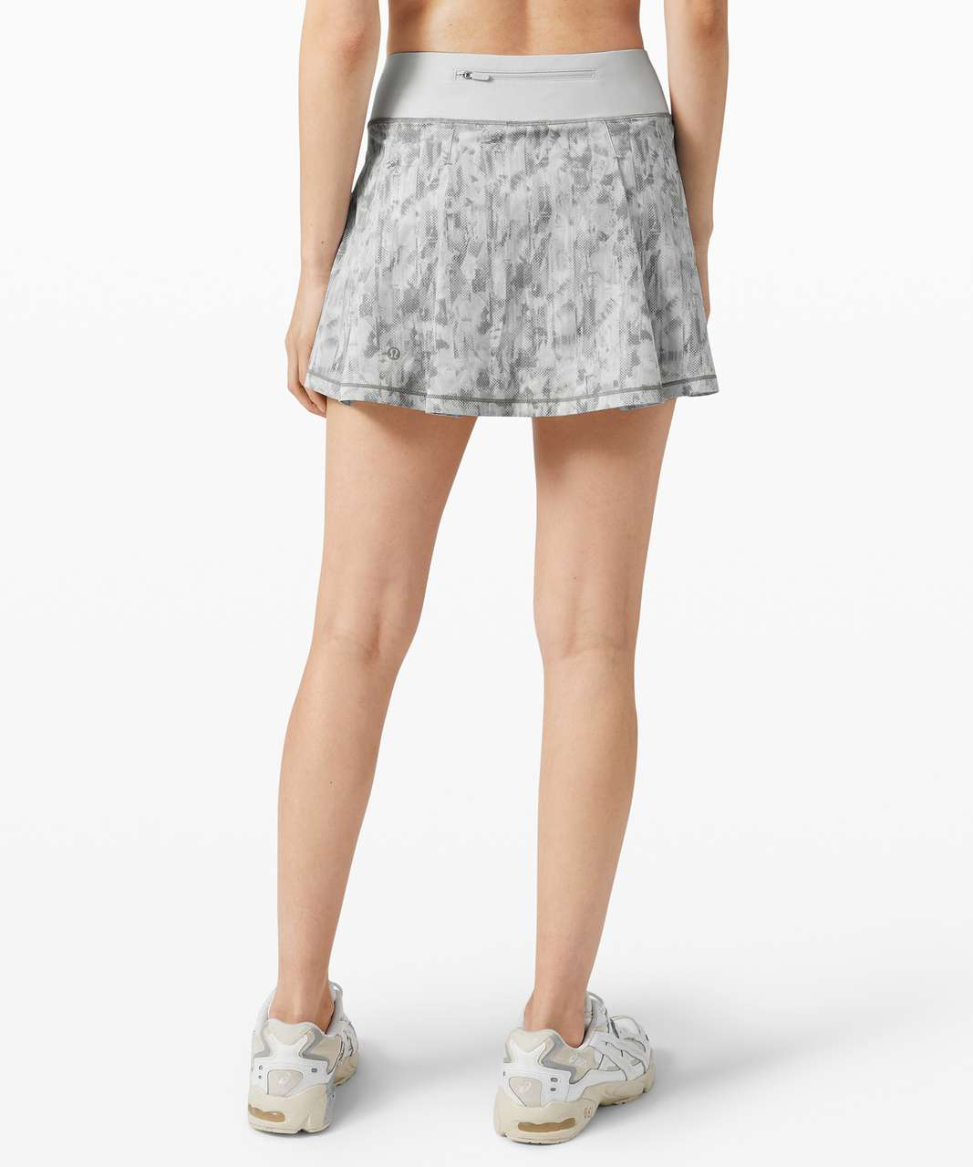 "Lululemon Pace Rival Skirt (Tall) *No Panels 15"" - City Breeze Alpine White Multi / Alpine White"