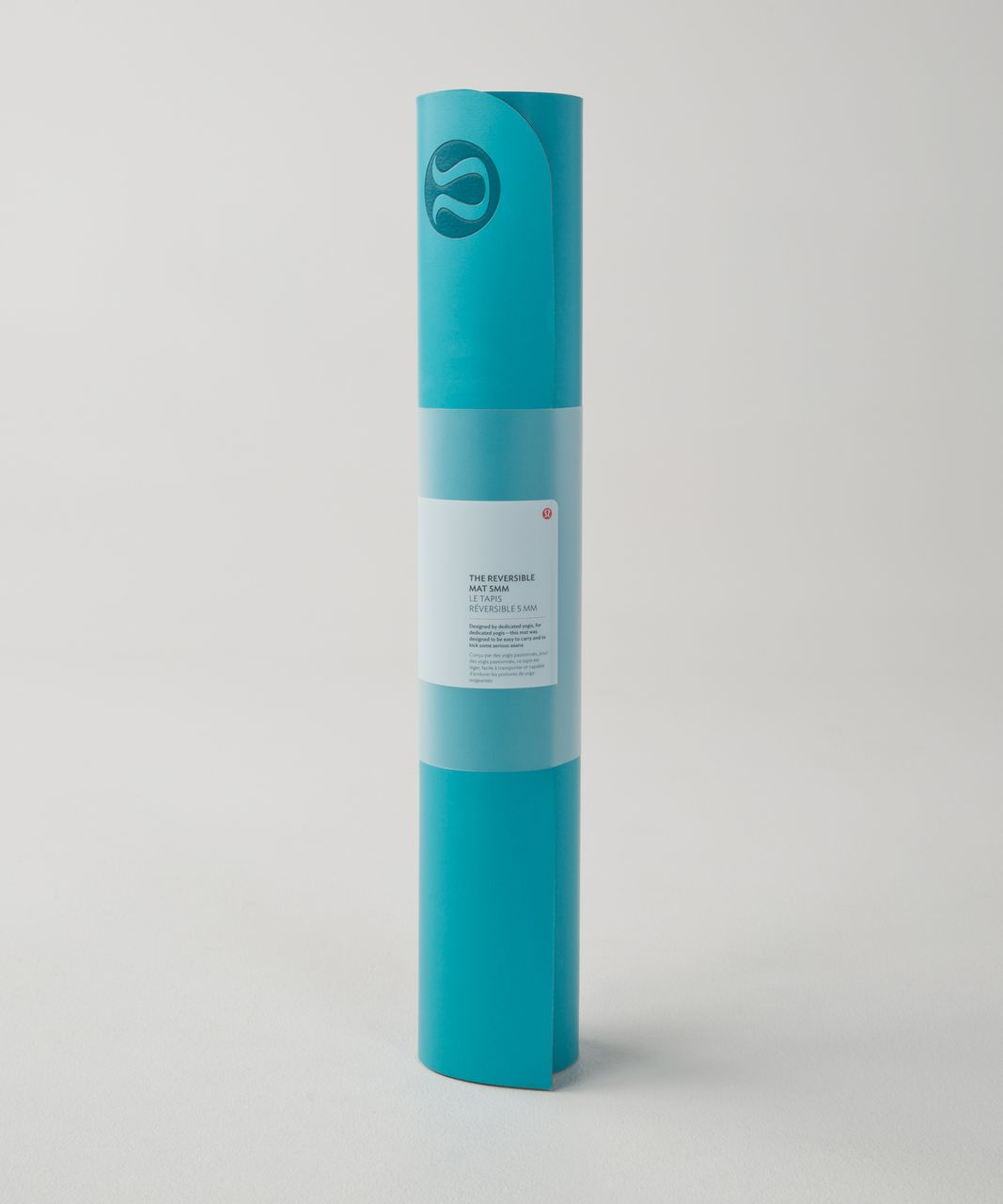 Lululemon The Reversible Mat 5mm - Peacock Blue / Deep Coal