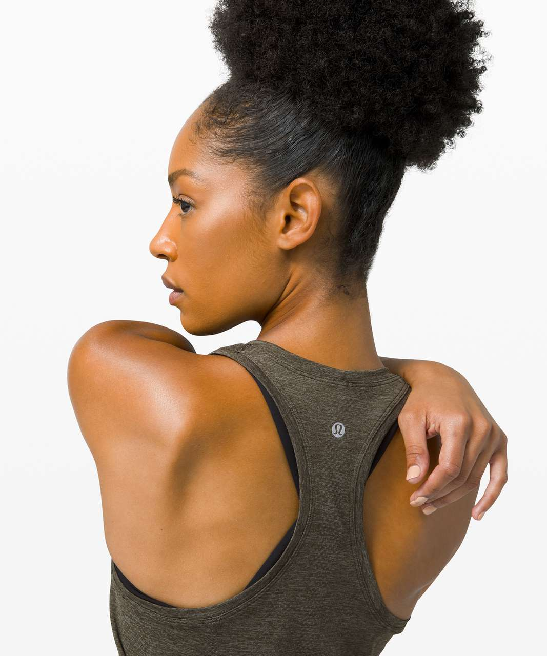 Lululemon Swiftly Tech Racerback 2.0 - Grey Sage / Dark Olive