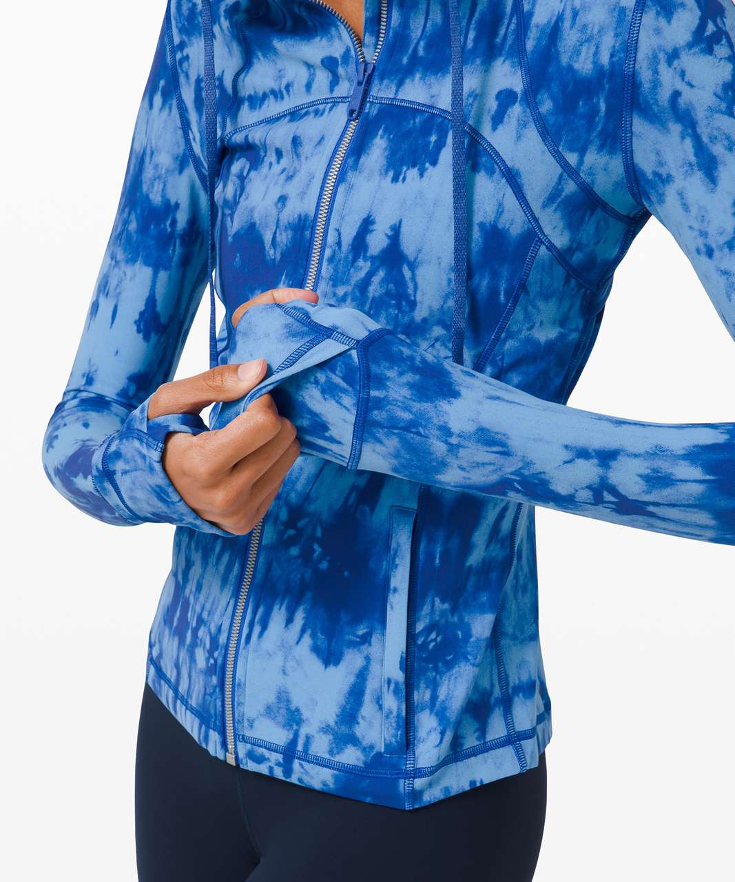 Lululemon Hooded Define Jacket Nulu *Game Day - Game Day Blue Multi