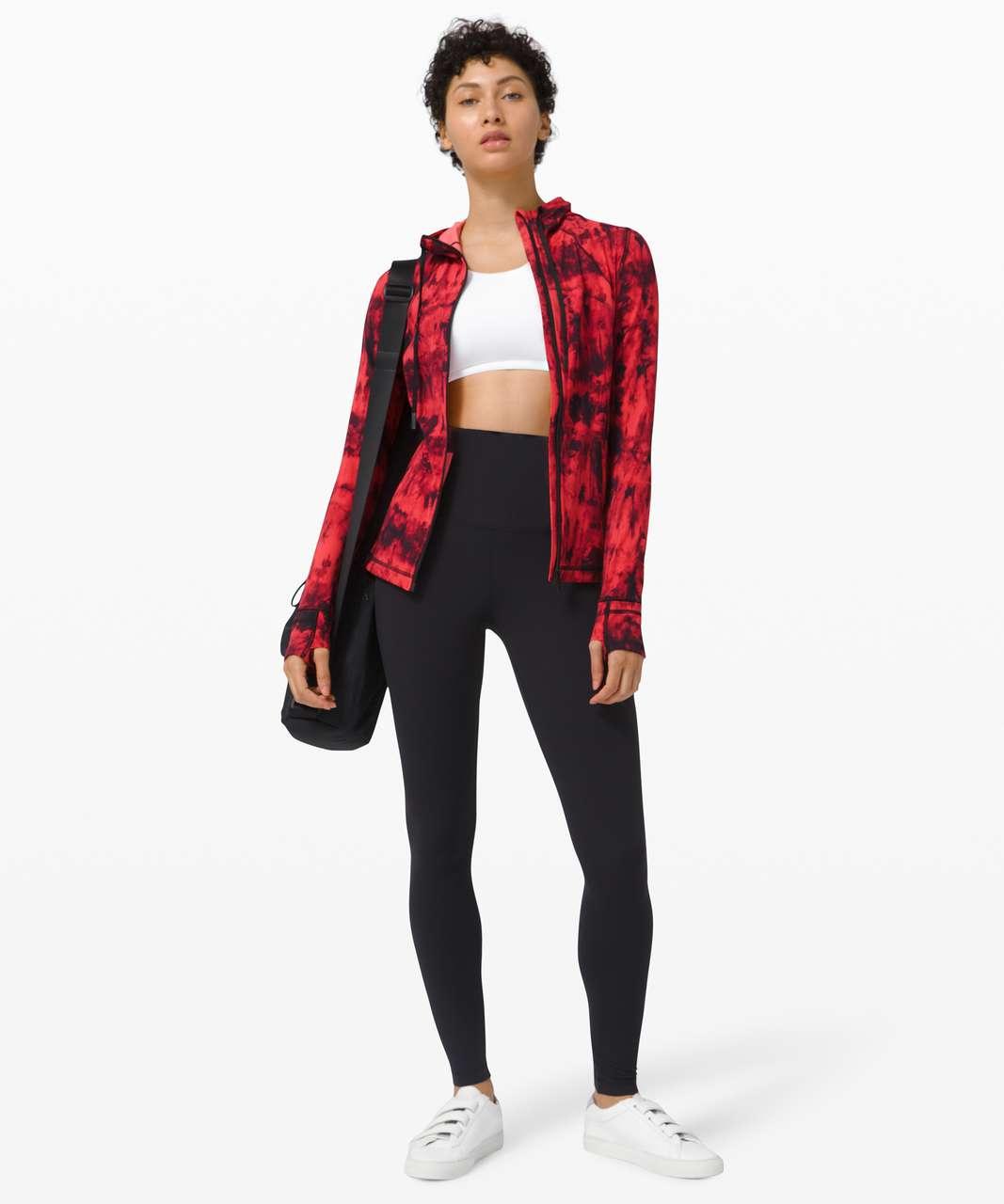 Lululemon Hooded Define Jacket Nulu *Game Day - Game Day Red Black Multi