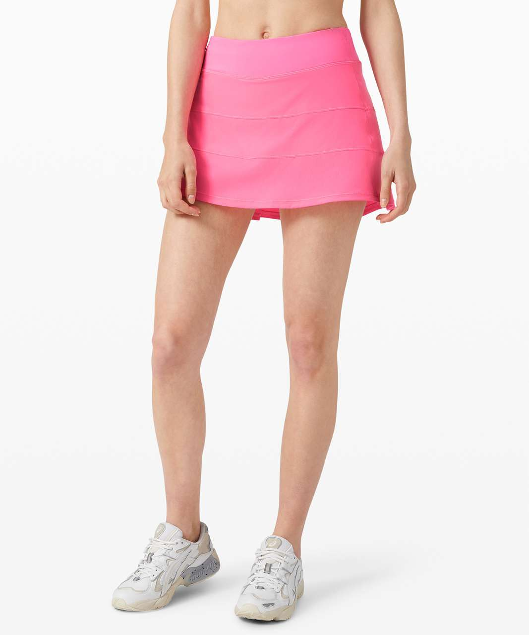 """Lululemon Pace Rival Skirt (Tall) *4-way Stretch 15"""" - Dark Prism Pink"""