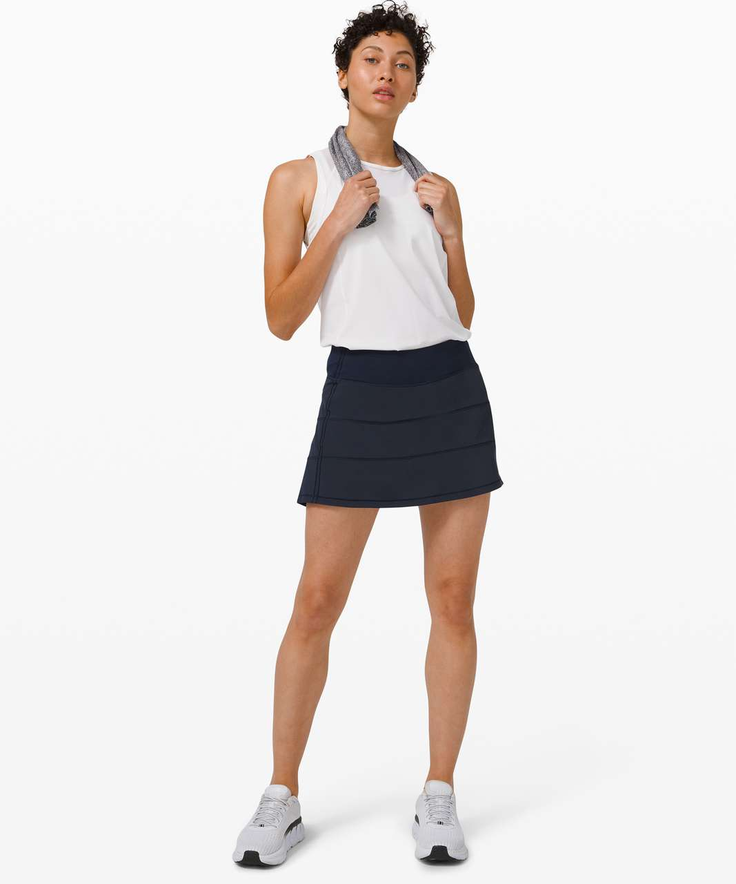 "Lululemon Pace Rival Skirt (Tall) *4-way Stretch 15"" - True Navy"
