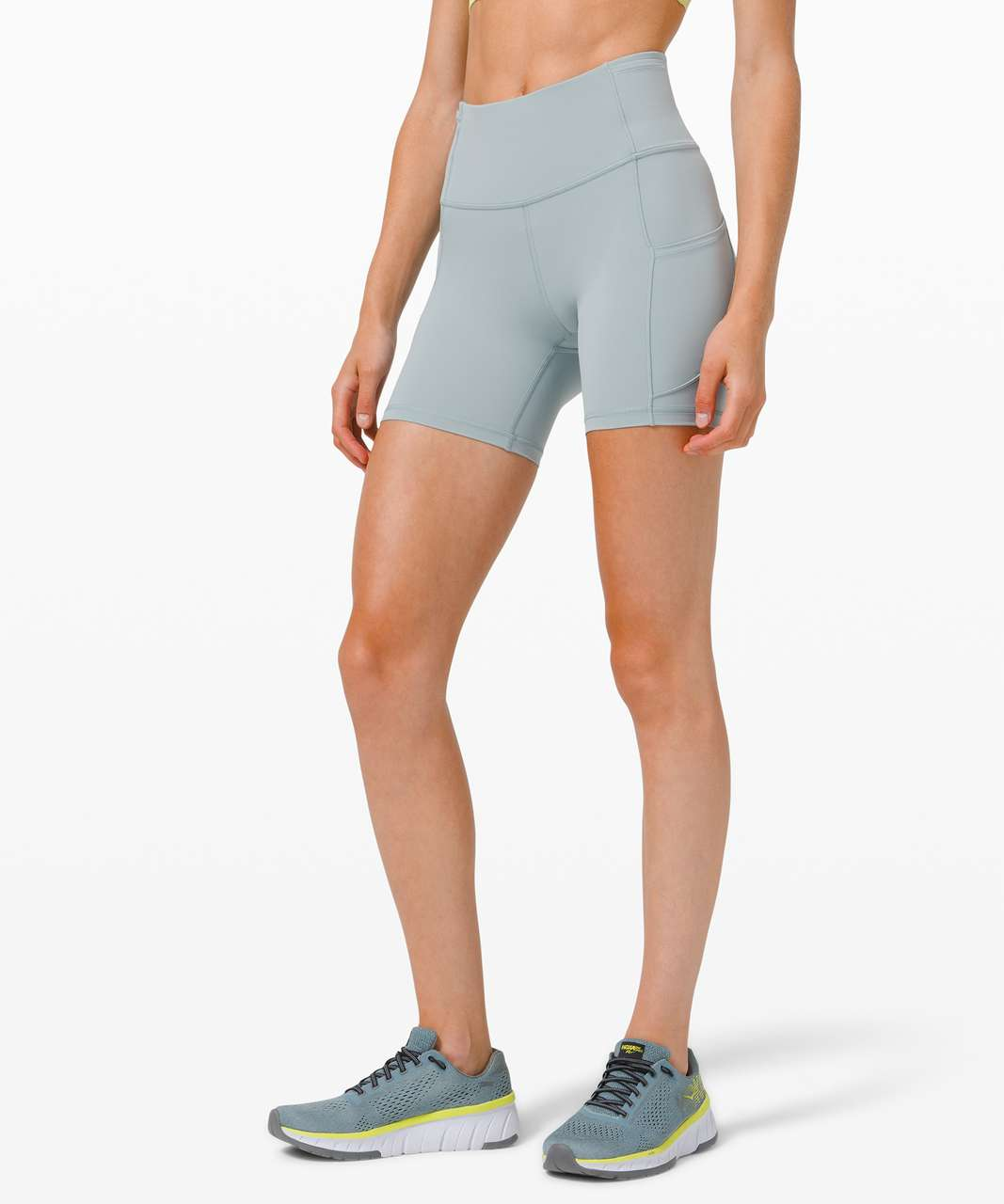 """Lululemon Fast and Free Short 6"""" *Non-Reflective - Blue Cast"""