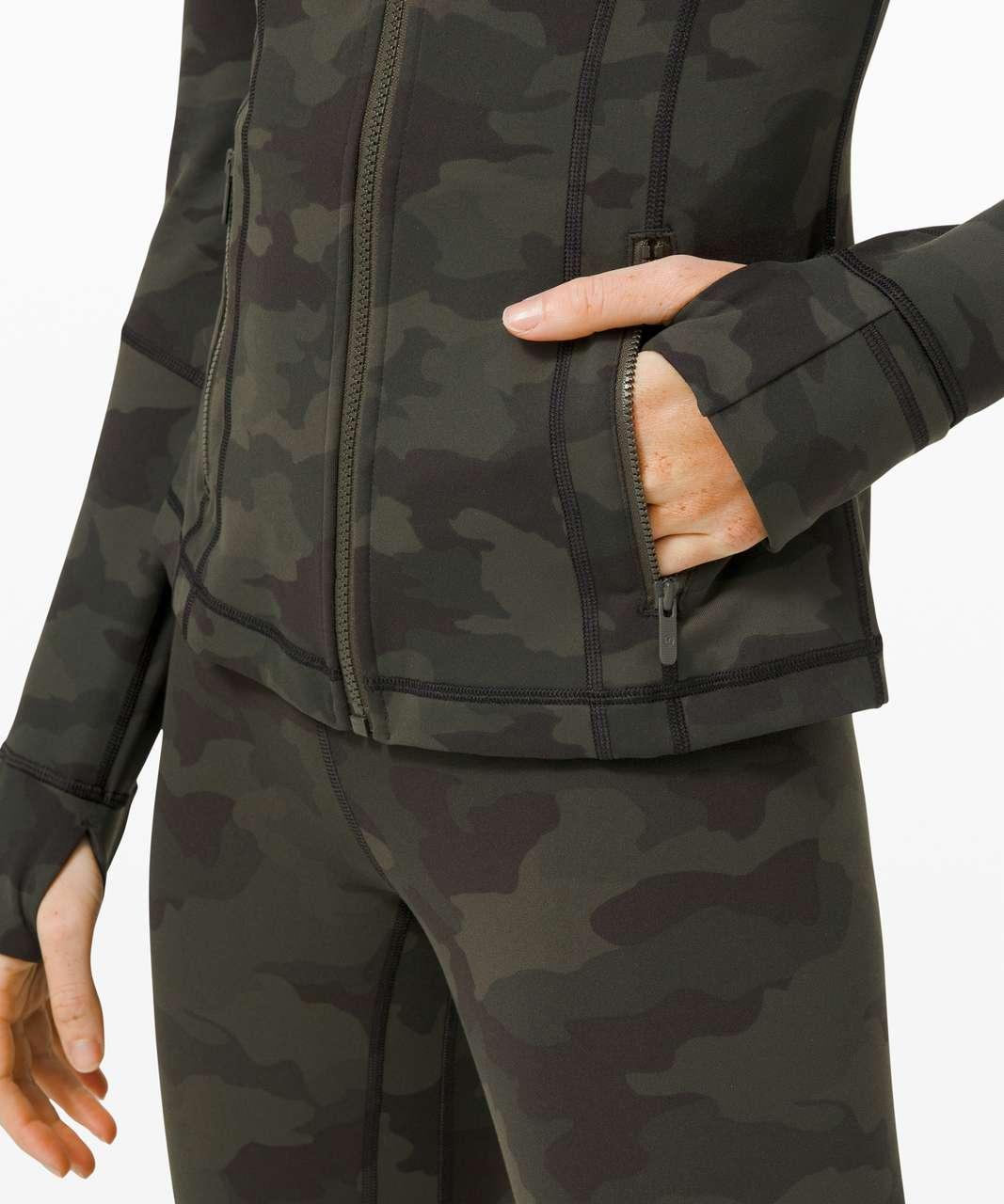 Lululemon Define Jacket - Heritage 365 Camo Dark Olive Multi