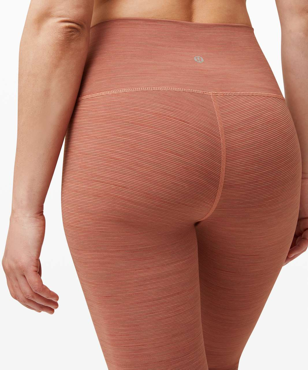 """Lululemon Wunder Under High-Rise Tight 25"""" *Luxtreme - Wee Are From Space Rustic Coral"""