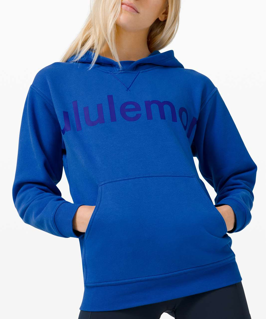 Lululemon All Yours Hoodie *Graphic - Cerulean Blue
