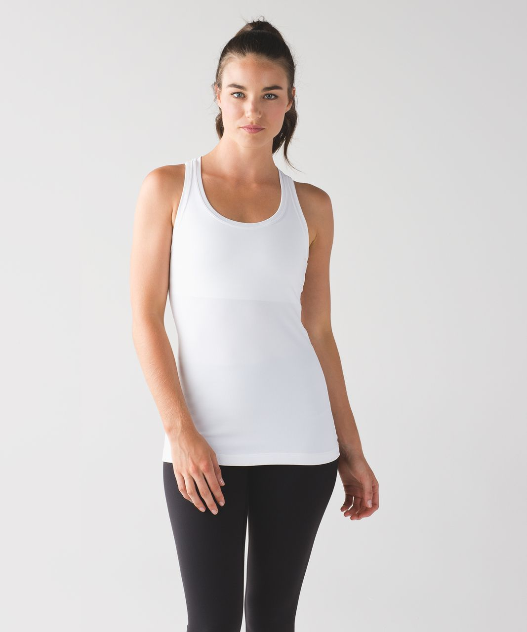 Lululemon Cool Racerback II - White (First Release)