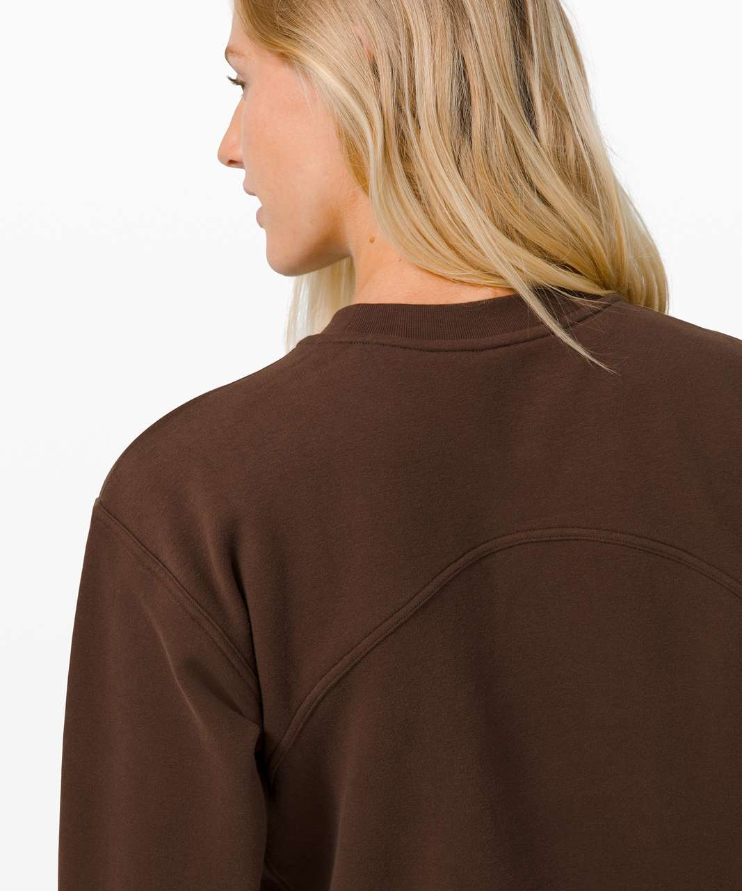 Lululemon All Yours Crew *Graphic - Brown Earth