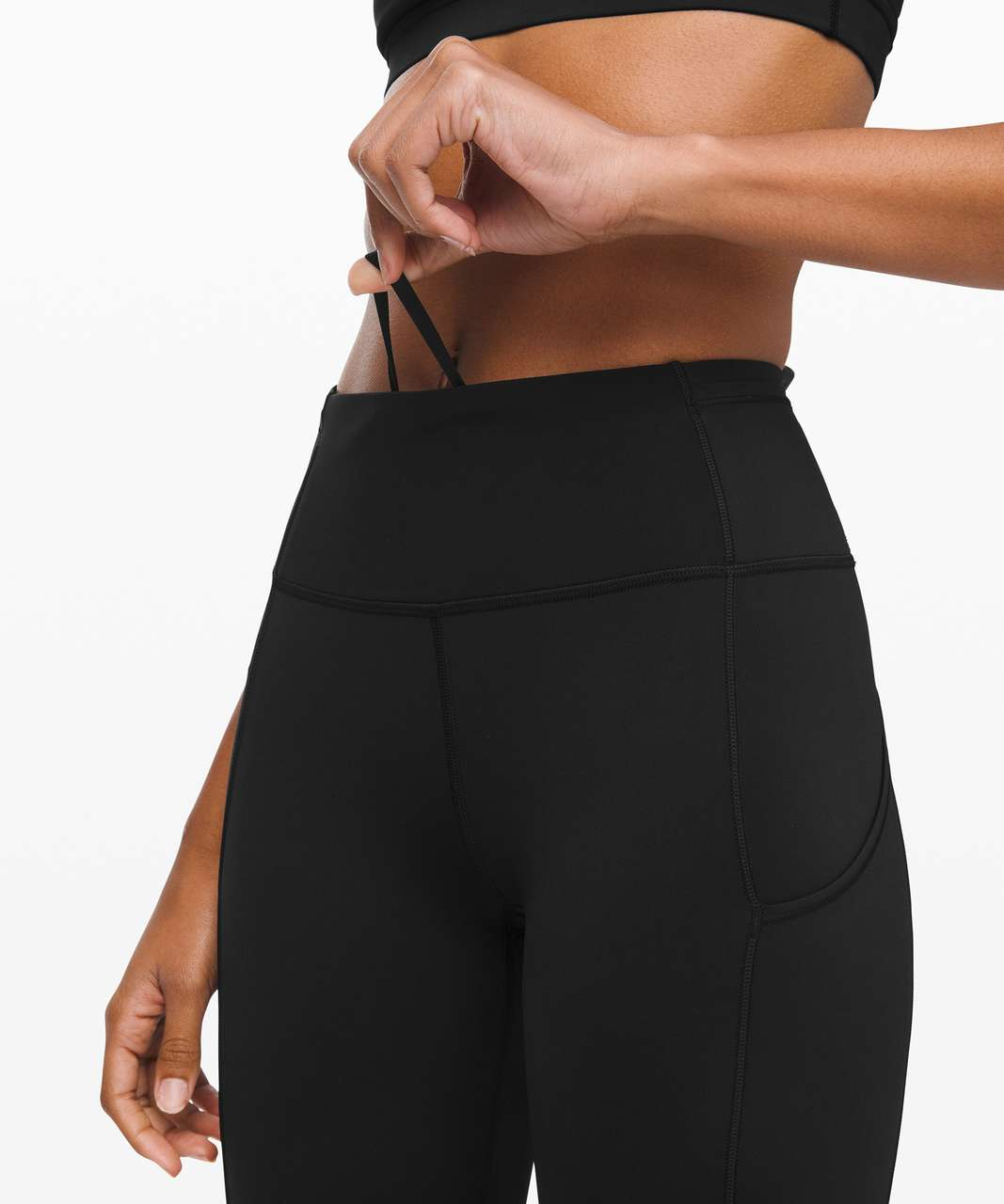 """Lululemon Fast and Free High Rise Tight 25"""" *Cool - Black"""