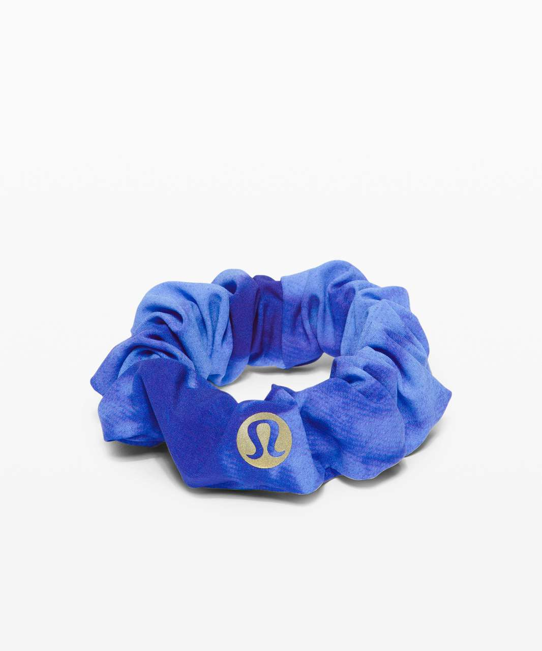 Lululemon Uplifting Scrunchie *Game Day - Team Spirit Blue Multi