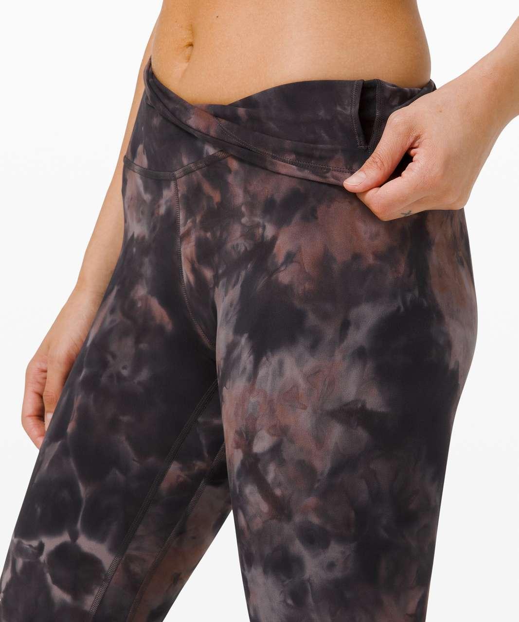 "Lululemon Align Pant 25"" *Diamond Dye - Diamond Dye Graphite Grey Pink Pastel"