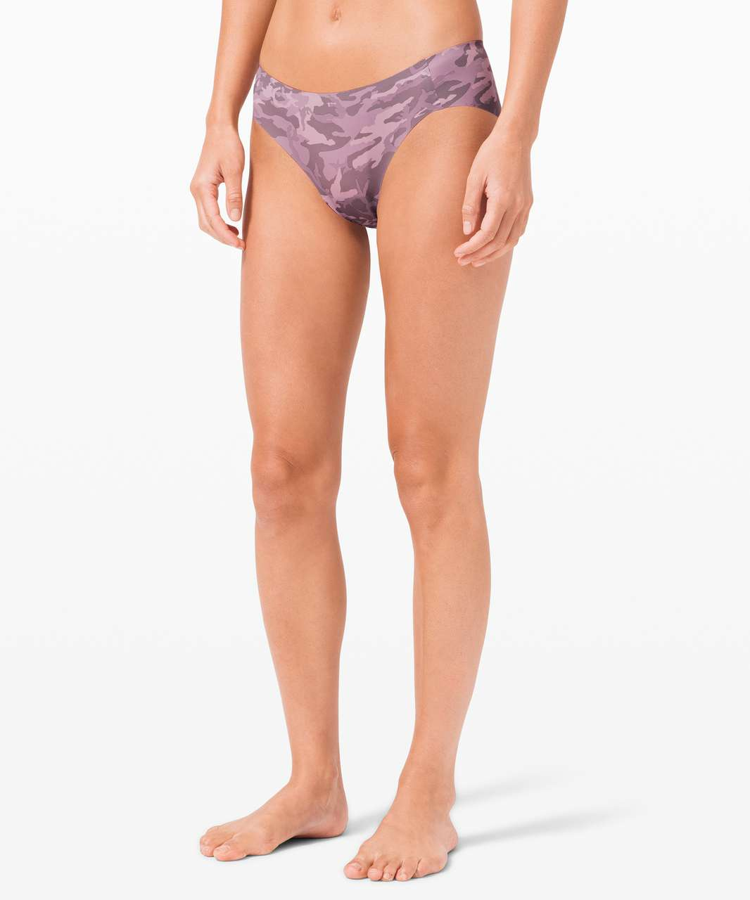 Lululemon Smooth Seamless Hipster - Incognito Camo Pink Taupe Multi