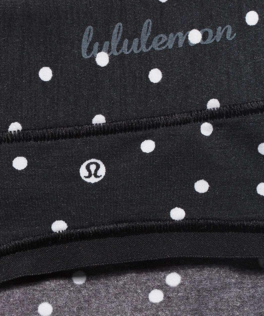 Lululemon Soft Breathable Bikini *3 Pack - Inspirit Polka White Black / Brier Rose / Chrome