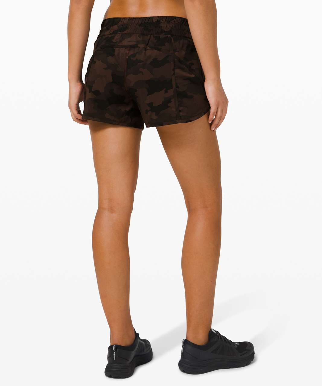 "Lululemon Tracker Short V *4"" - Heritage 365 Camo Brown Earth Multi"