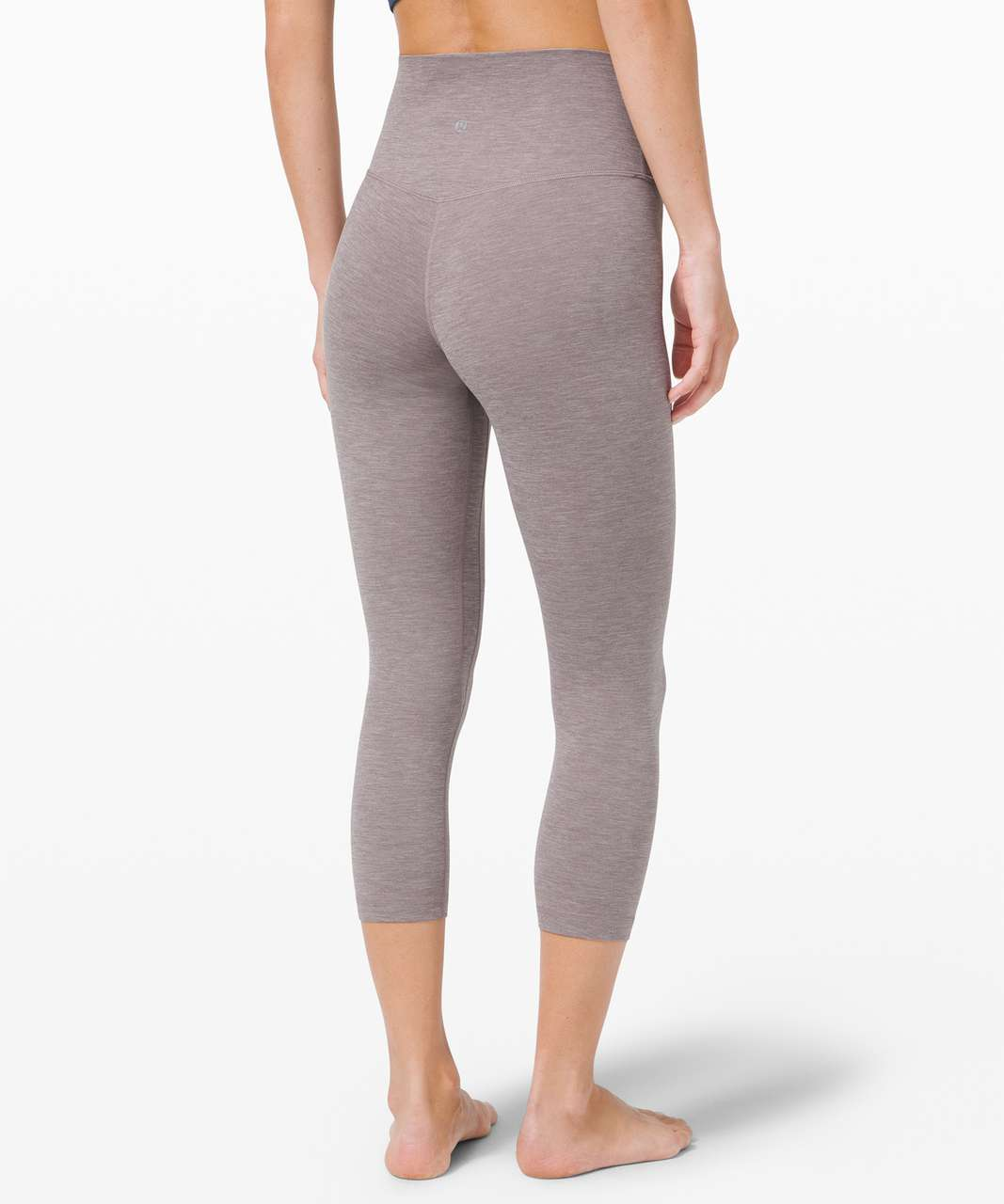 "Lululemon Align Crop *21"" - Heathered Lunar Rock"