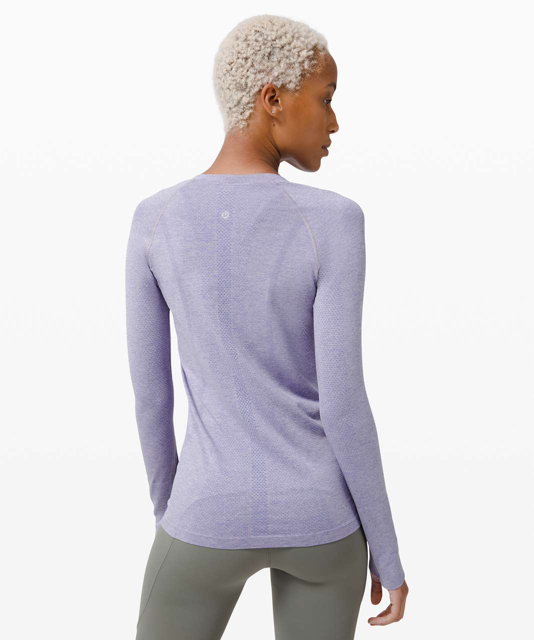 Lululemon Swiftly Tech Long Sleeve 2.0 - Peri Purple / Iced Iris