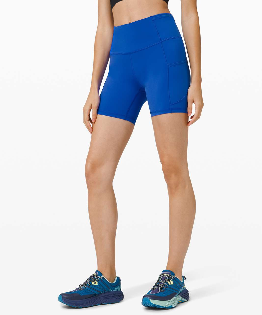 """Lululemon Fast and Free Short 6"""" *Non-Reflective - Cerulean Blue"""