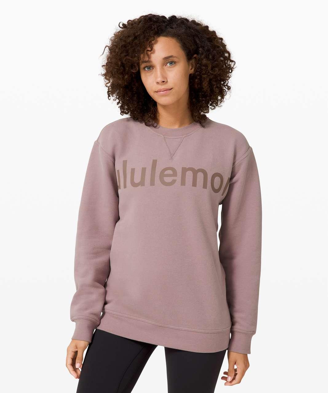 Lululemon All Yours Crew *Graphic - Violet Verbena