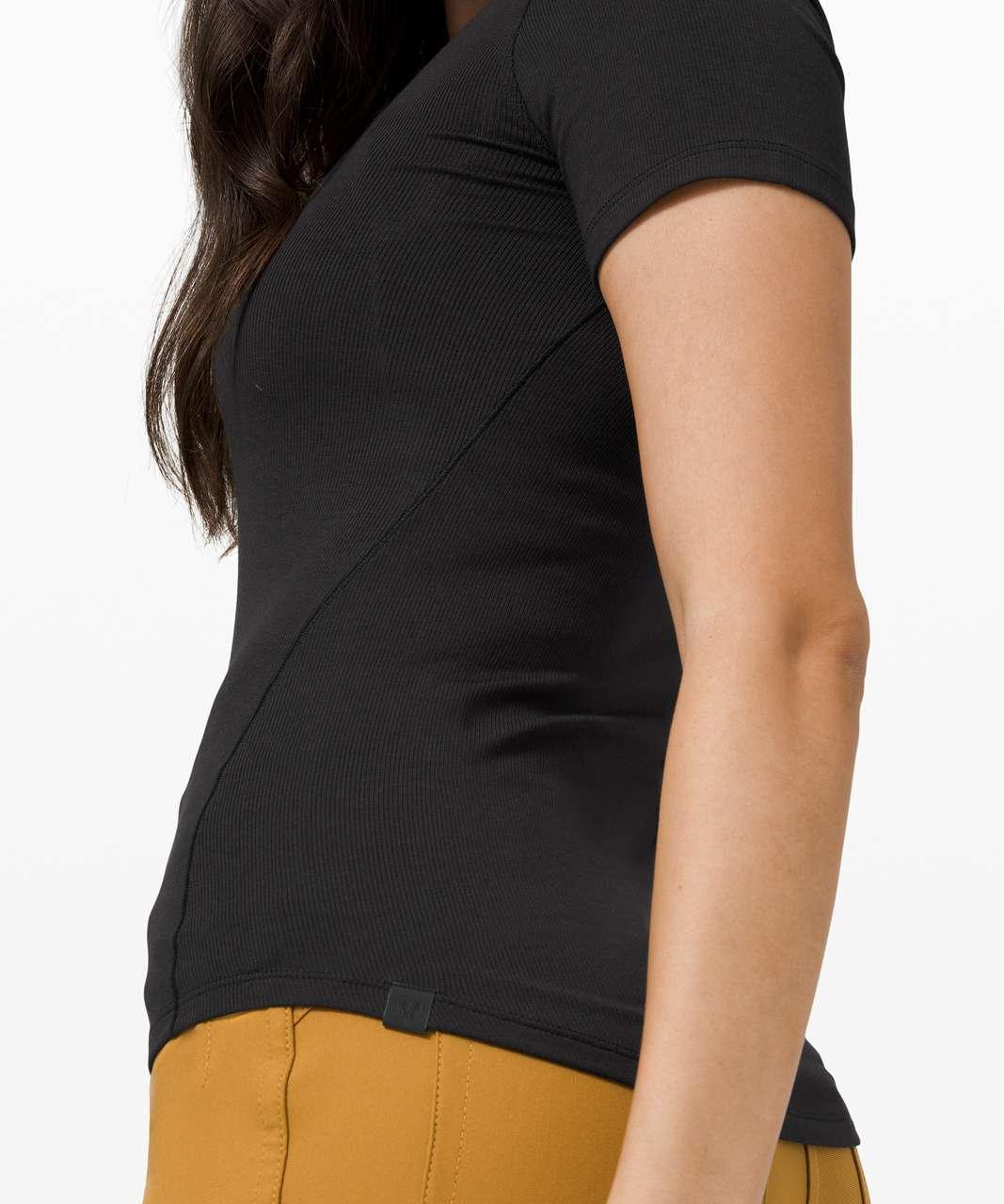 Lululemon Hold Tight Short Sleeve - Black