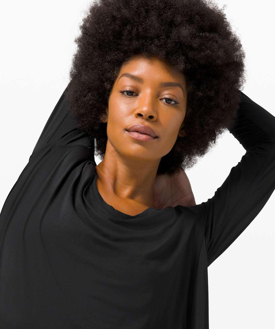Lululemon Up for Down Time Long Sleeve - Black