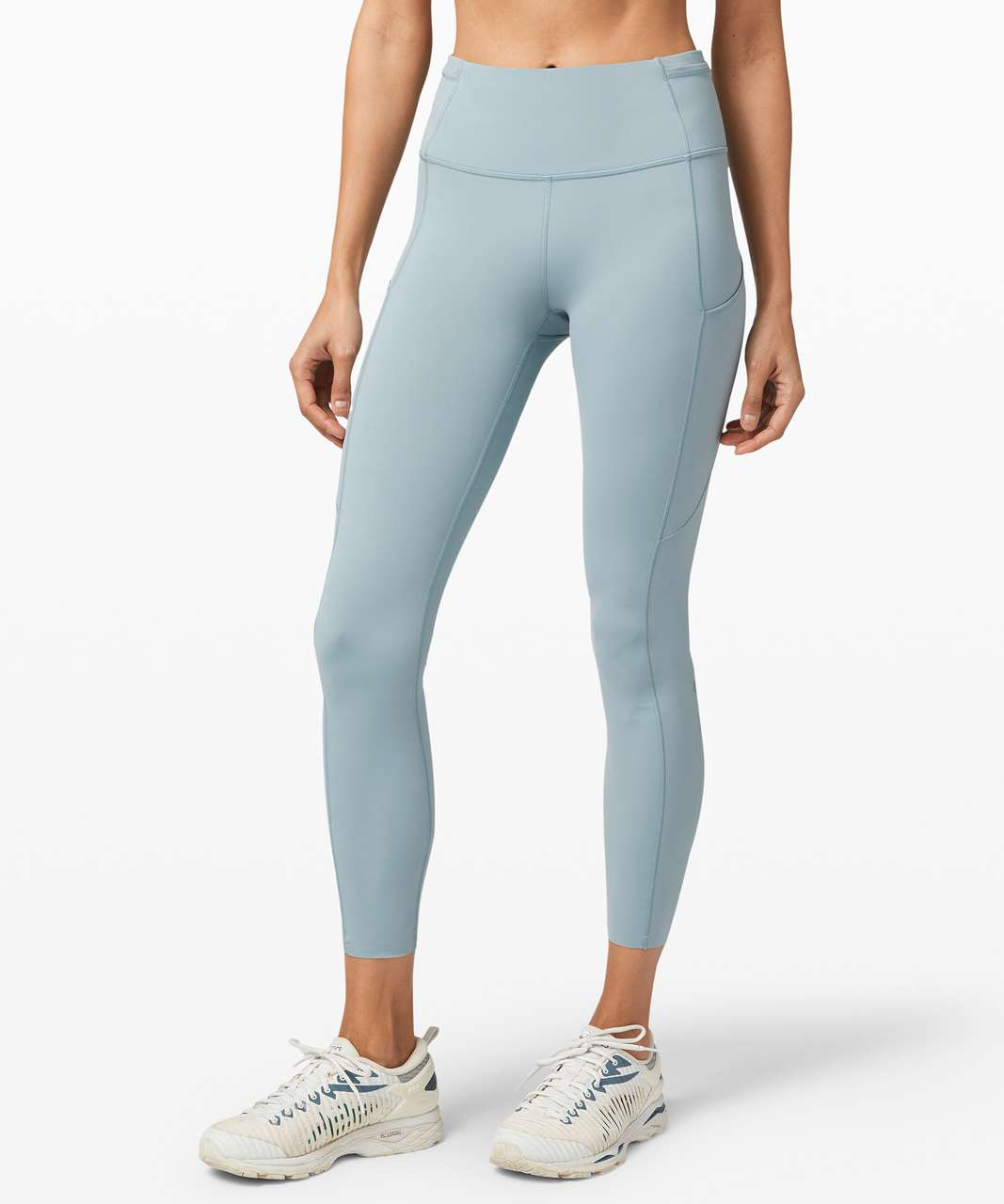"Lululemon Fast and Free Tight II 25"" *Non-Reflective Nulux - Blue Cast"