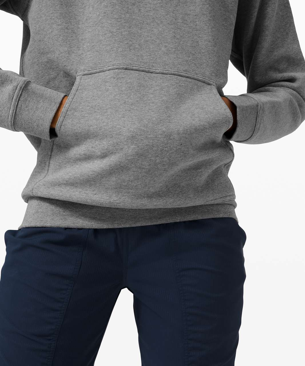 Lululemon All Yours Hoodie *Fleece - Heathered Core Medium Grey