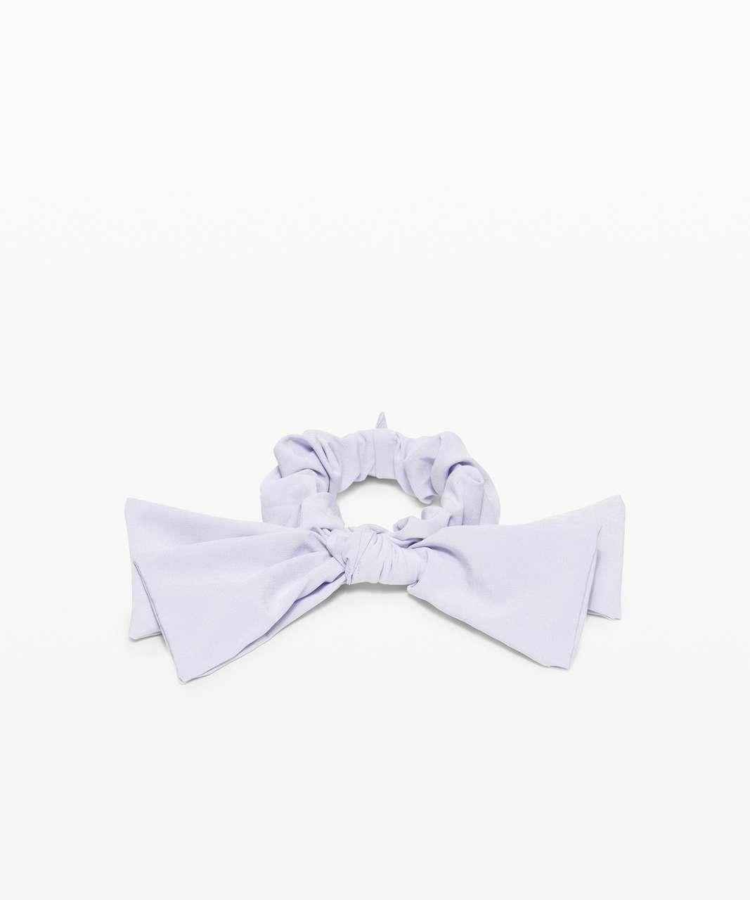 Lululemon Uplifting Scrunchie *Ribbon - Serene Blue