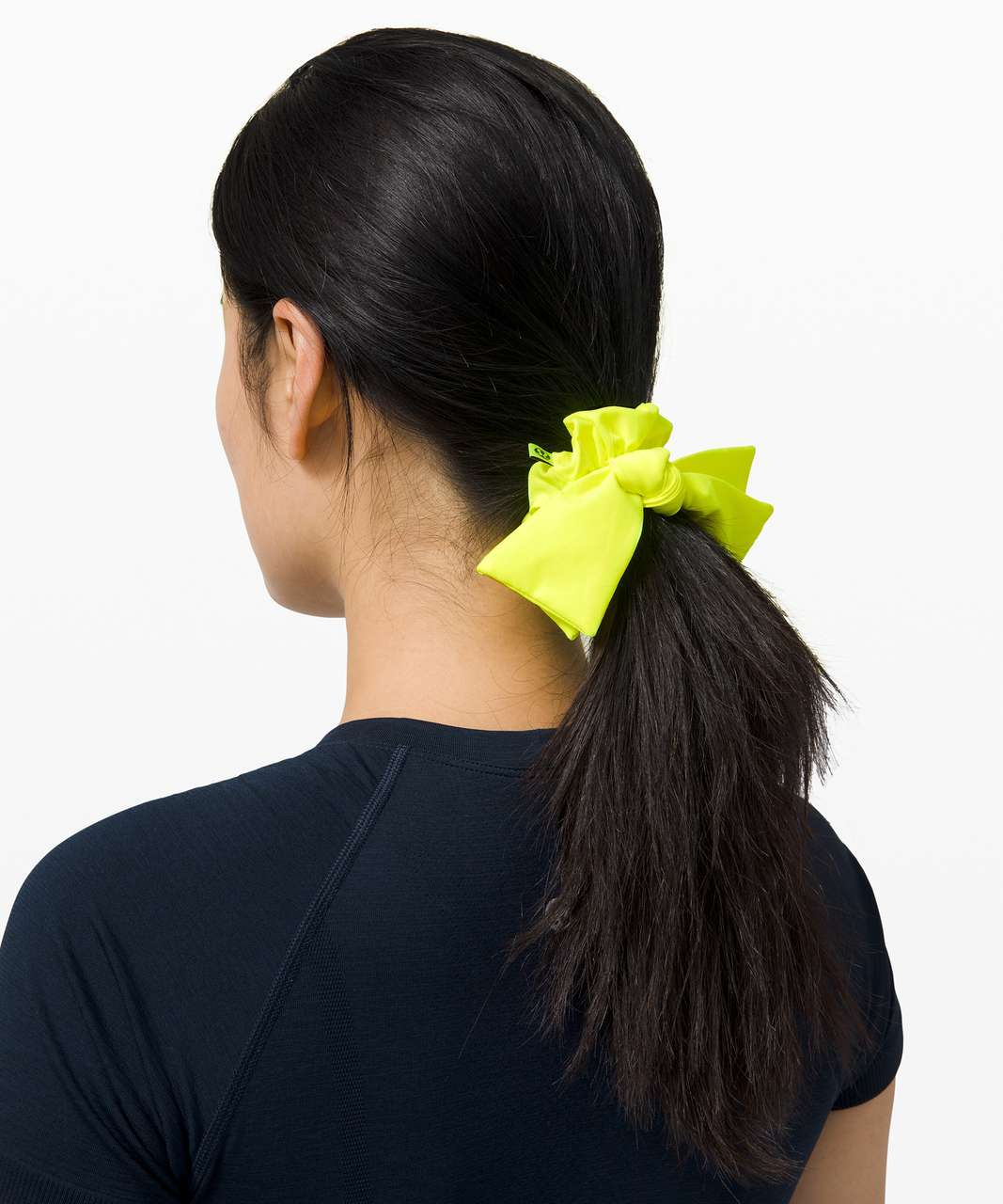 Lululemon Uplifting Scrunchie *Ribbon - Highlight Yellow