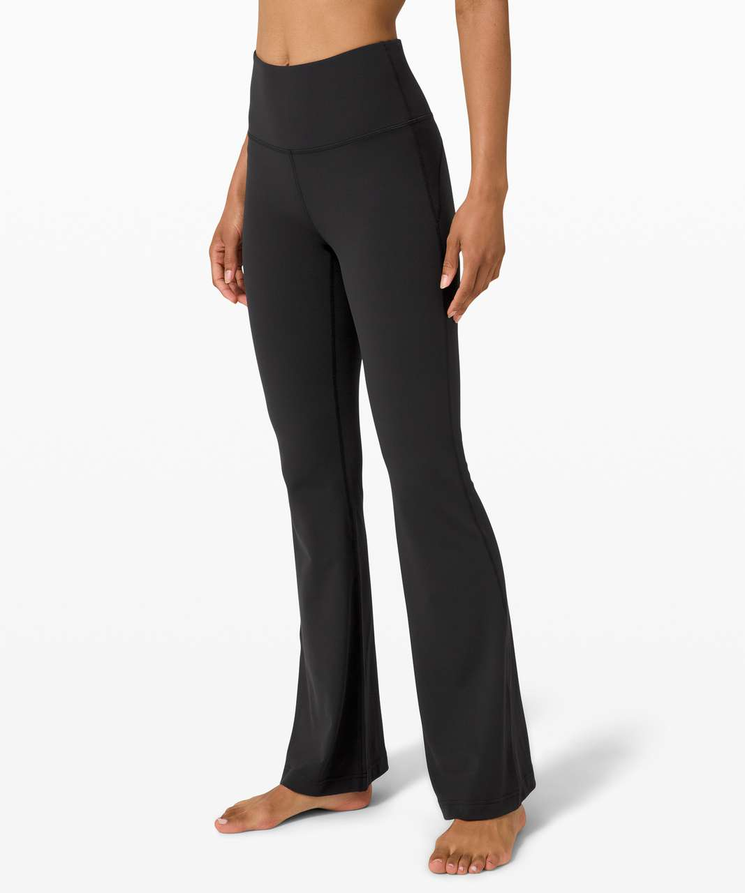 Lululemon Groove Pant Flare Super High-Rise *Nulu - Black (First Release)