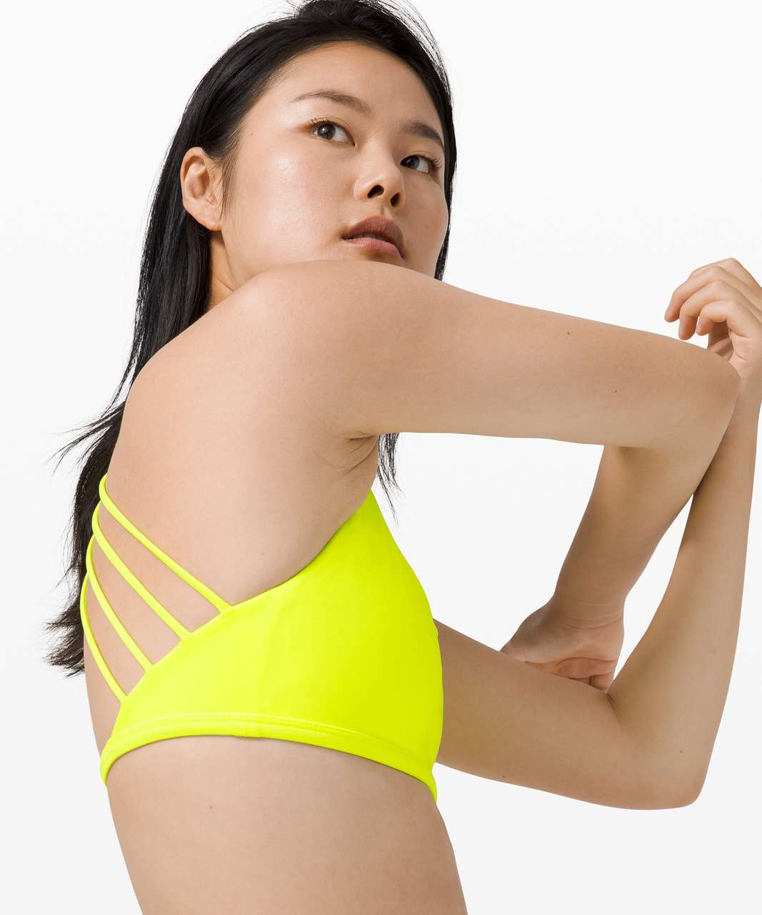 Lululemon Free To Be Bra Wild *Light Support, A/B Cup - Highlight Yellow