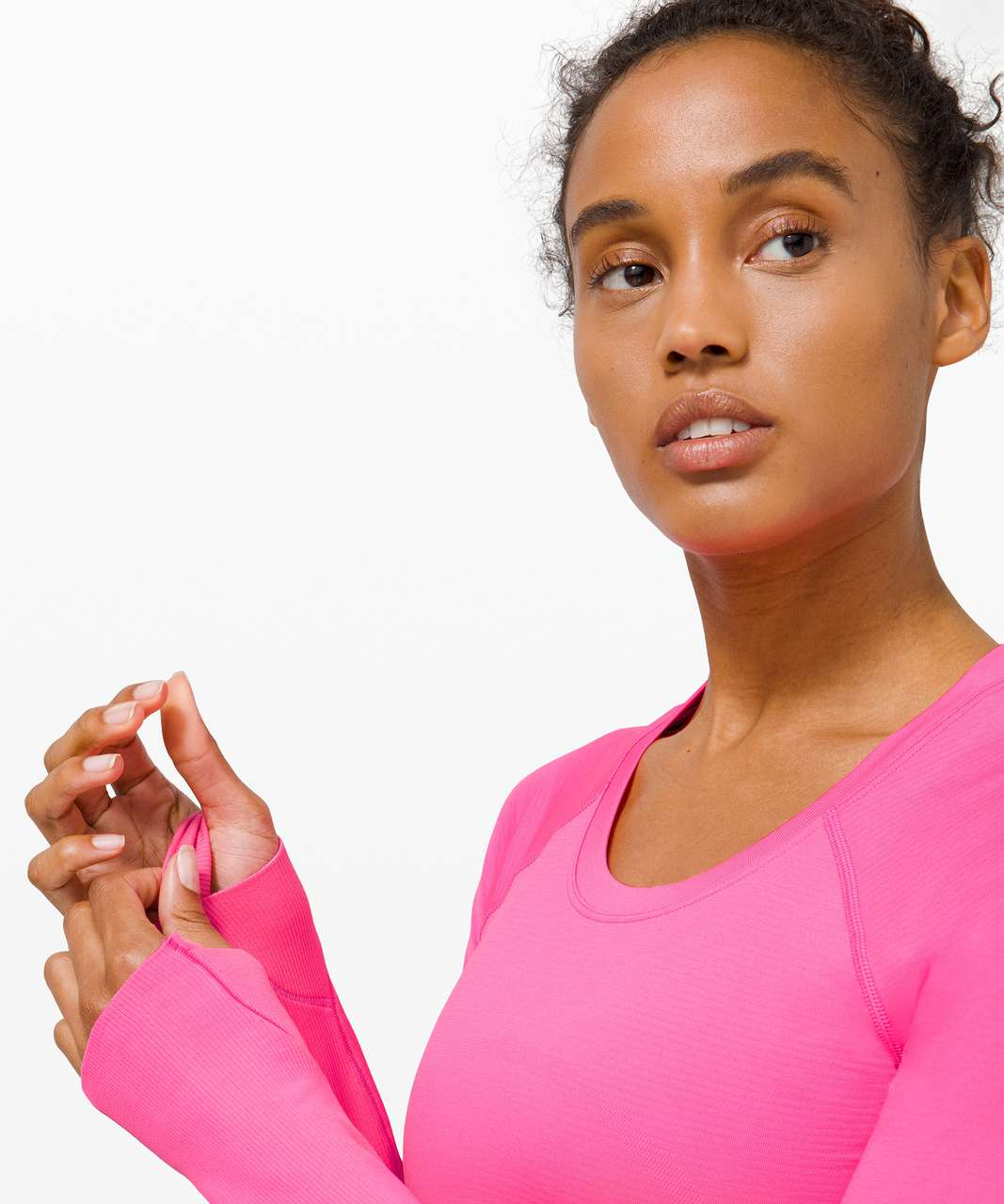 Lululemon Swiftly Tech Long Sleeve 2.0 *Race Length - Dark Prism Pink / Dark Prism Pink