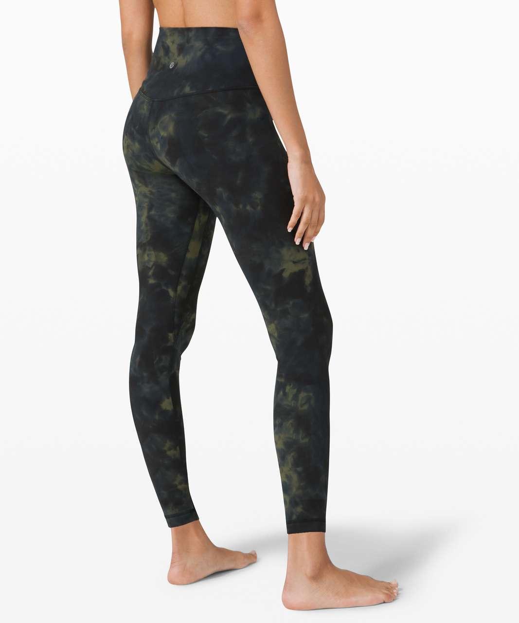 "Lululemon Align Pant 25"" *Diamond Dye - Diamond Dye Graphite Grey Bronze Green"