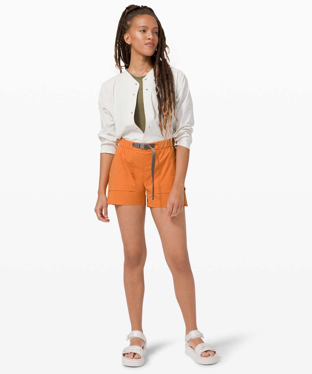 Lululemon Kosaten Short *lululemon lab - True Tangerine