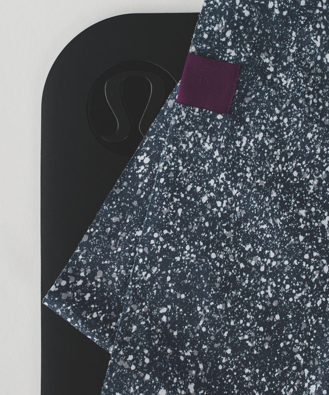 Lululemon The (Small) Towel - Splatter Alpine White Black